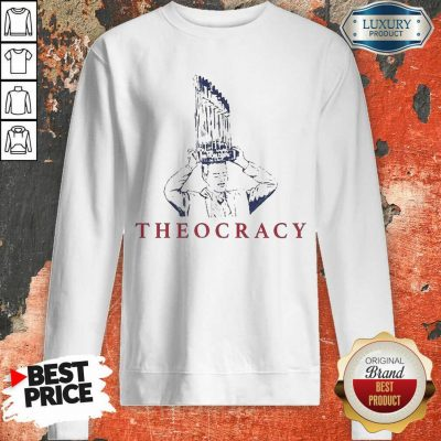 Terrific Chicago Bears 2 Theocracy Sweatshirt - Design by T-shirtbest.com