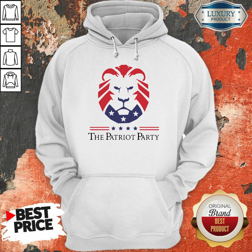 Terrific New Patriot Party Pride 2021 America Hoodie - Design by T-shirtbest.com