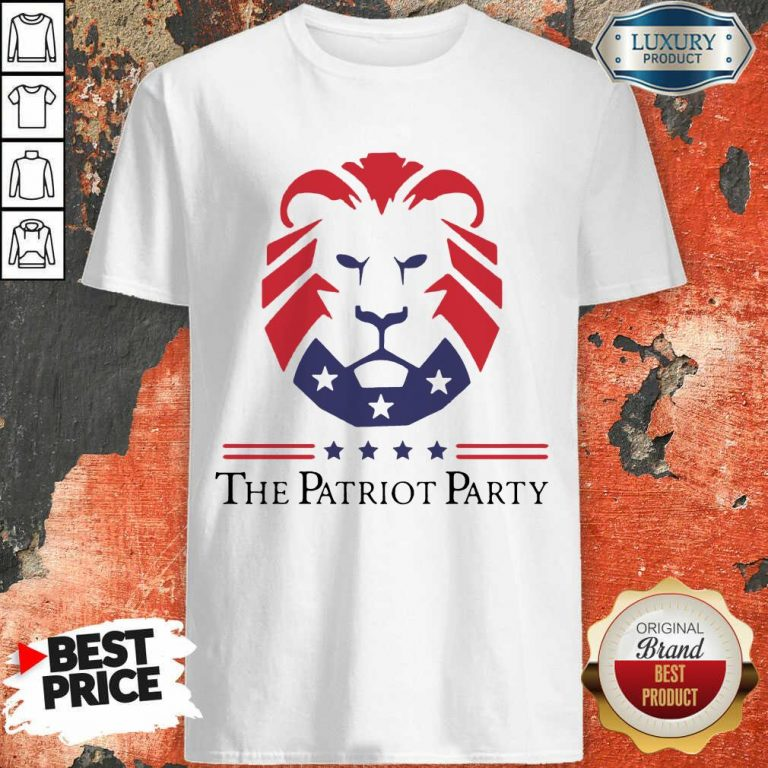 Terrific New Patriot Party Pride 2021 America Shirt - Design by T-shirtbest.com