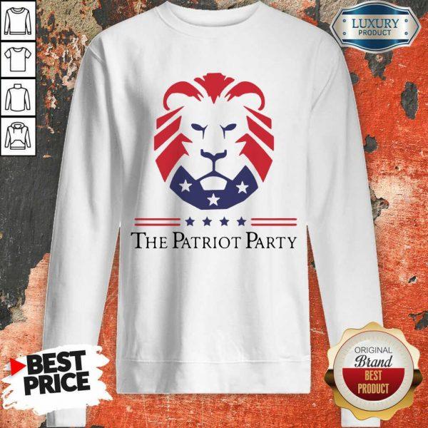 Terrific New Patriot Party Pride 2021 America Sweatshirt - Design by T-shirtbest.com