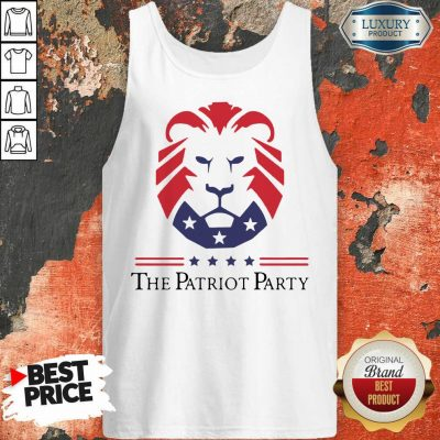 Terrific New Patriot Party Pride 2021 America Tank Top - Design by T-shirtbest.com