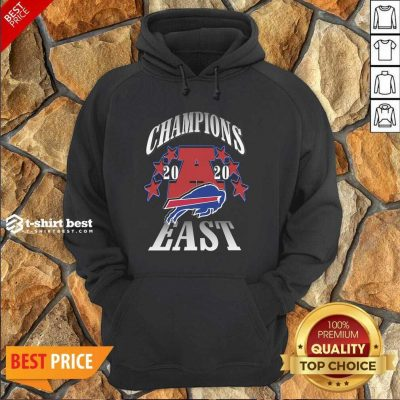 Champions 2020 Buffalo Bills East Hoodie - Design By 1tees.com