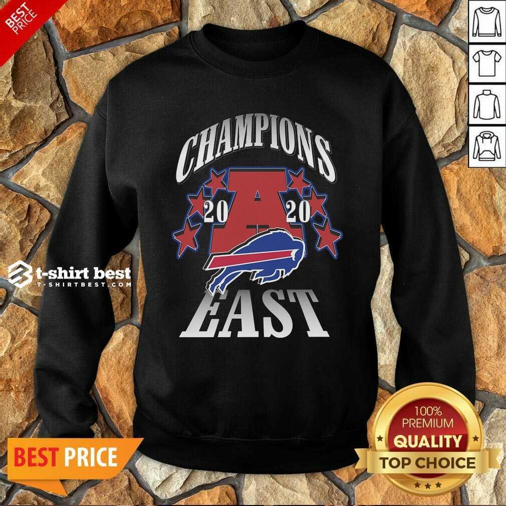 Champions 2020 Buffalo Bills East Sweatshirt - Design By 1tees.com
