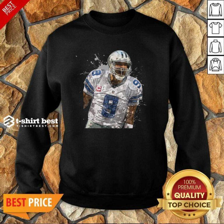 Dallas Cowboys Football Players 9 NFL Playoffs Sweatshirt - Design By 1tees.com