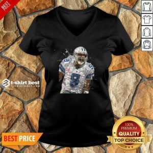 Dallas Cowboys Football Players 9 NFL Playoffs V-neck - Design By 1tees.com