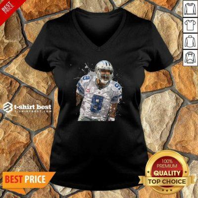 Dallas Cowboys Football Players 9 NFL Playoffs V-neck - Design By 1tees.com