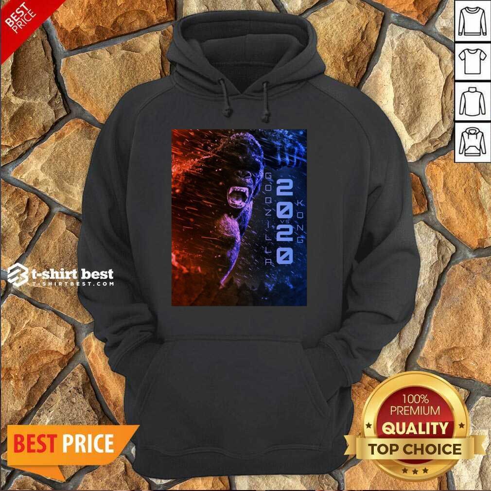 Attractive Filtrados Juguetes Ve Godzilla Vs Kong 2021 Hoodie - Design by T-shirtbest.com