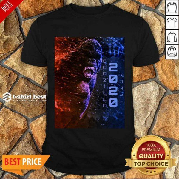 Attractive Filtrados Juguetes Ve Godzilla Vs Kong 2021 Shirt - Design by T-shirtbest.com