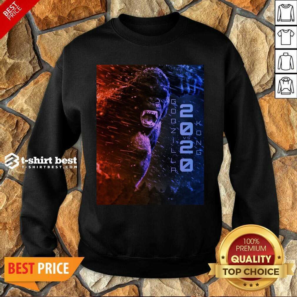 Attractive Filtrados Juguetes Ve Godzilla Vs Kong 2021 Sweatshirt - Design by T-shirtbest.com