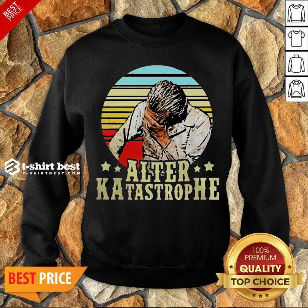 Awesome Alter Katastrophe Vintage Sweatshirt
