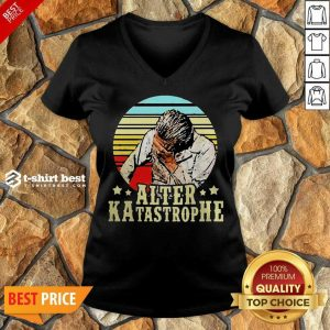 Awesome Alter Katastrophe Vintage V-neck