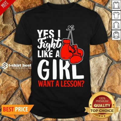 I Fight Like A Girl 1 Boxing Shirt - Design by T-shirtbest.com