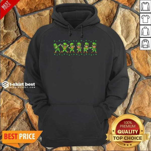 Leprechauns 6 Dancing St Patricks Day Hoodie - Design by T-shirtbest.com