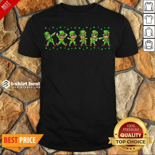 Leprechauns 6 Dancing St Patricks Day Shirt - Design by T-shirtbest.com