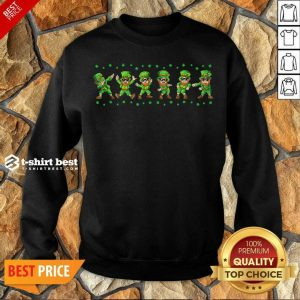 Leprechauns 6 Dancing St Patricks Day Sweatshirt - Design by T-shirtbest.com