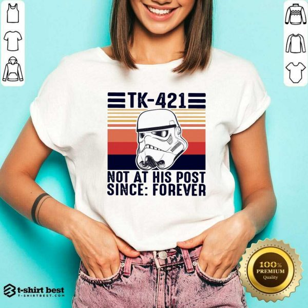 Nice TK-421 Not At His Post Since Forever V-neck