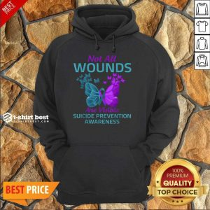 Not All Wounds Are Visible Suicide 7 Awareness Hoodie - Design by T-shirtbest.com