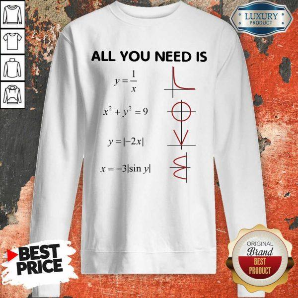Premium All You Need Is LOVE Sweatshirt