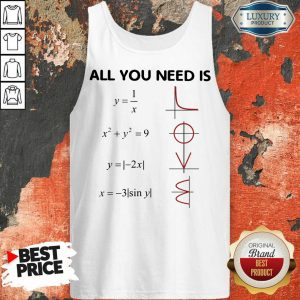 Premium All You Need Is LOVE Tank Top