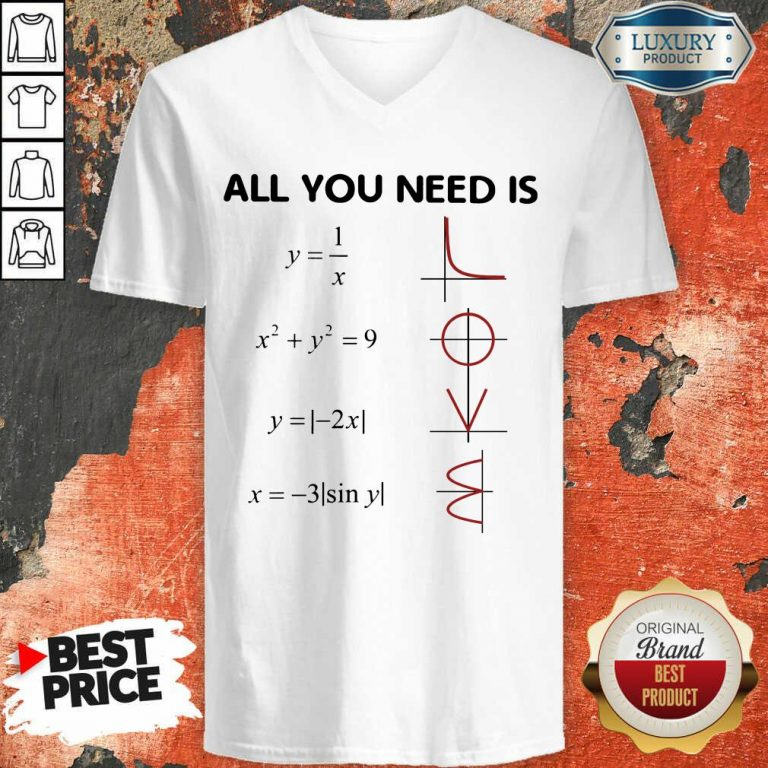 Premium All You Need Is LOVE V-neck