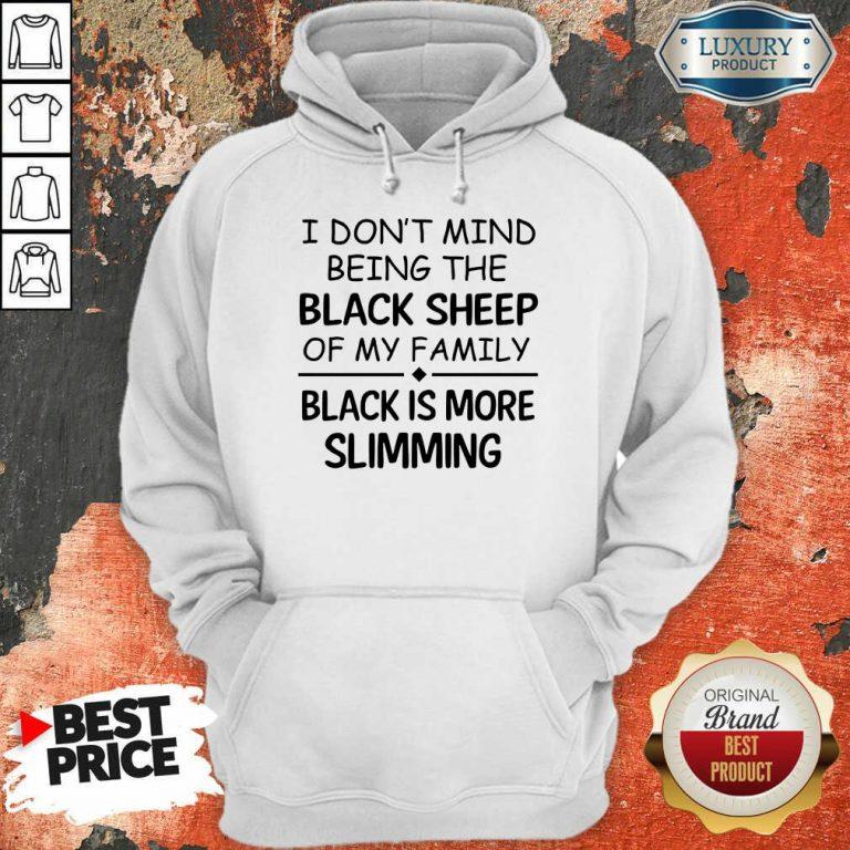 Being The Black Sheep Slimming Hoodie
