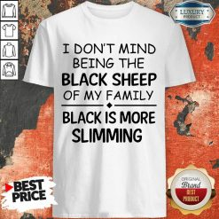 Being The Black Sheep Slimming Shirt