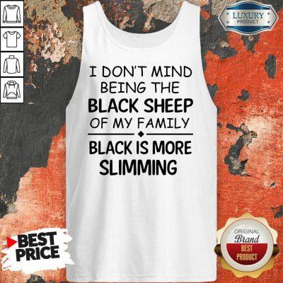 Being The Black Sheep Slimming Tank Top