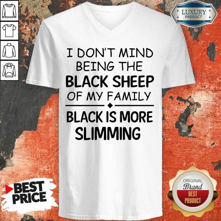 Being The Black Sheep Slimming V-neck