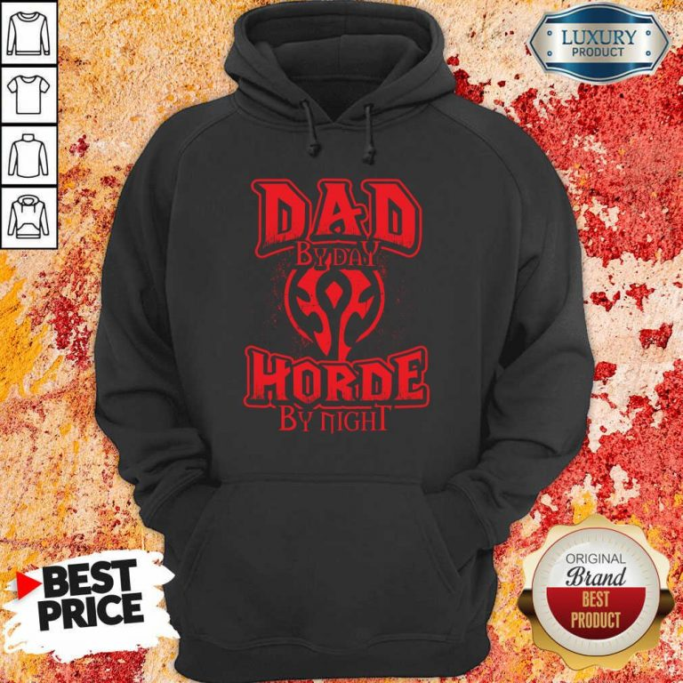 Dad By Day Horde By Night Hoodie