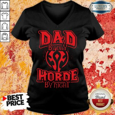 Dad By Day Horde By Night V-neck