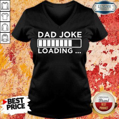 Dad Joke Loading V-neck