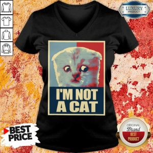 I'm Not A Cat V-neck