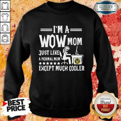 I'm Wow Mom Except Much Cooler Sweatshirt