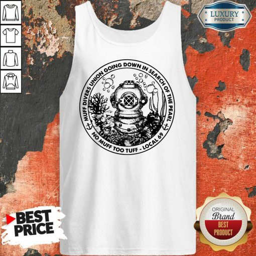Muff Divers Union Going Down Tank Top
