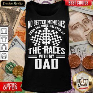 My Dad Dirt Track Racing Memories Tank Top