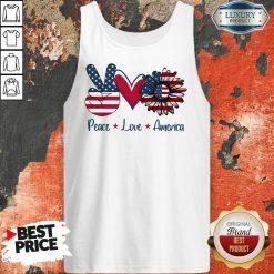 Peace Love America Tank Top