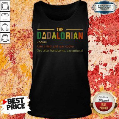 The Dadalorian Tank Top