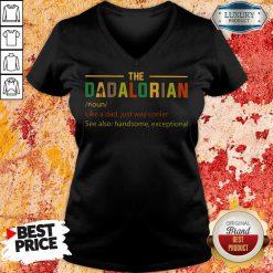 The Dadalorian V-neck