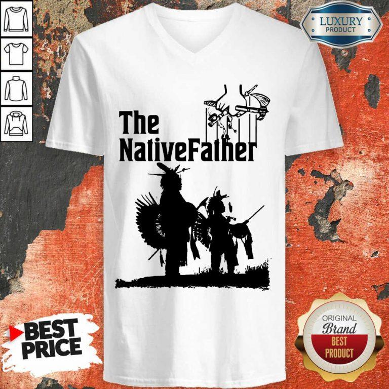 The Native Father V-neck