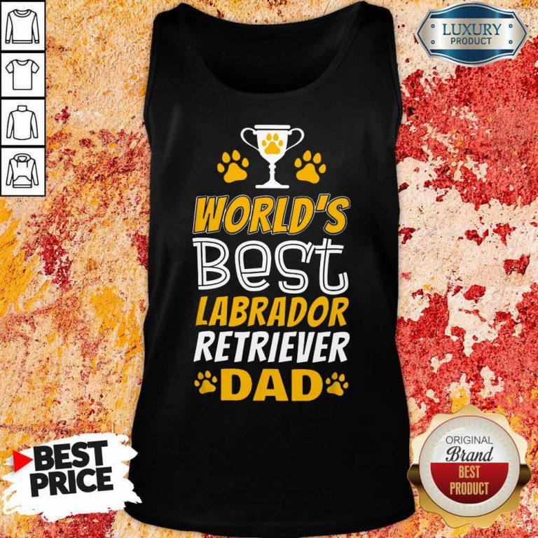World's Best Labrador Retriever Dad Tank Top